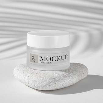 Beauty care cosmetic product mock up