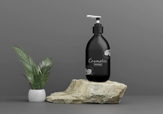 Beauty cosmetic product mockup