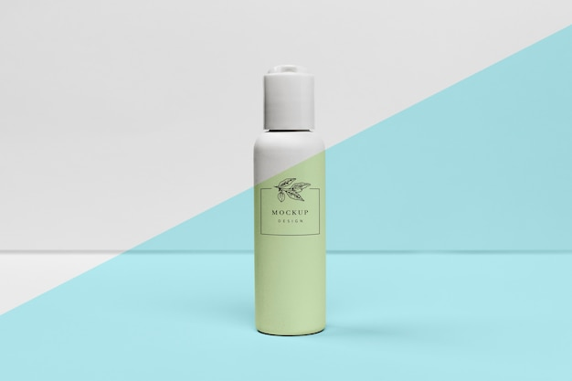 Beauty product bottle mock-up