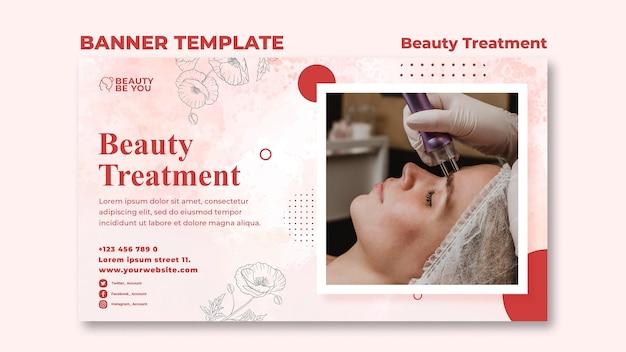 Beauty treatment banner