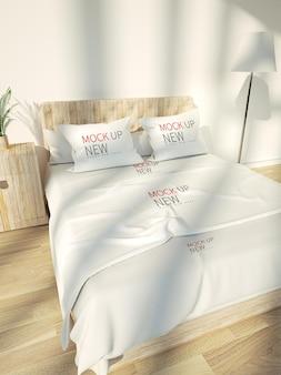 침대 모형