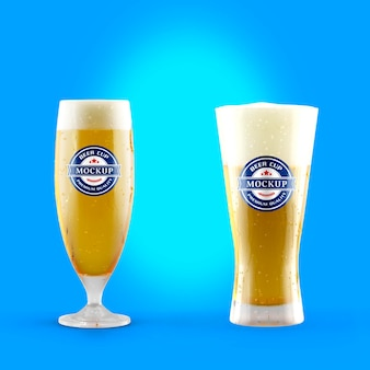 맥주 컵 모형