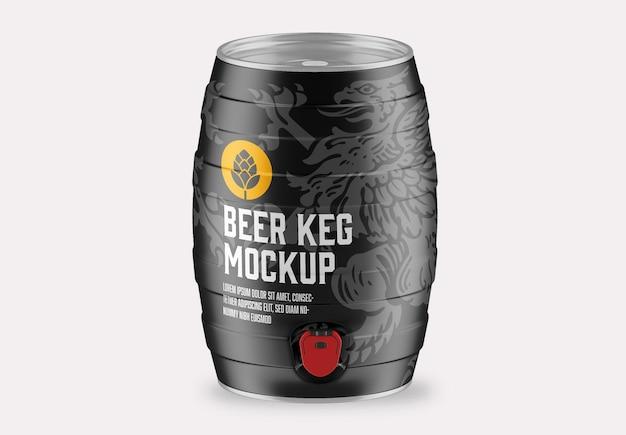 Beer keg mockup