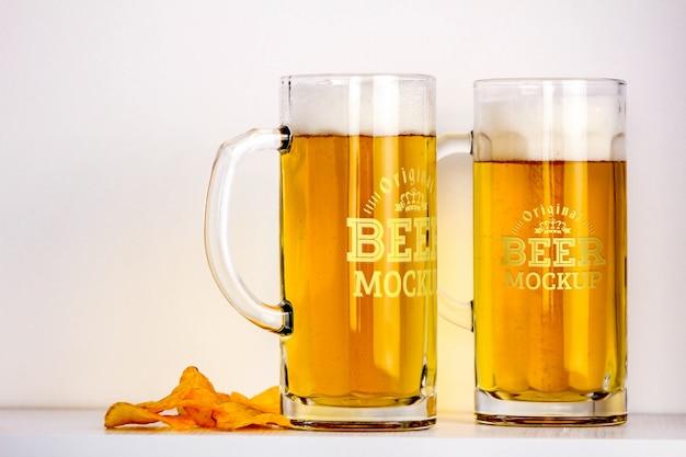 Beer mockup