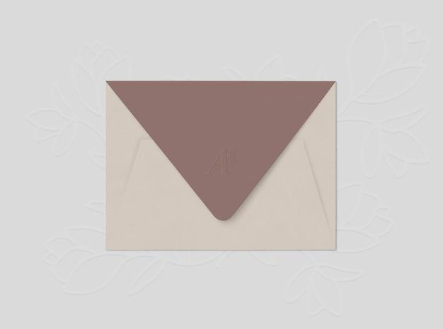 Beige envelope