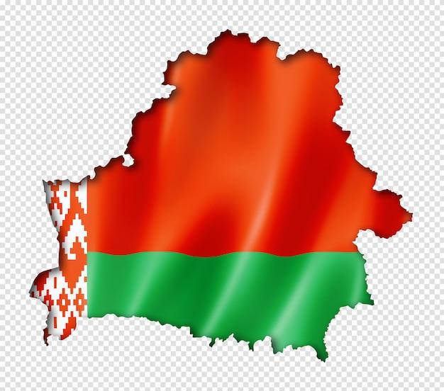 Беларусь флаг карта