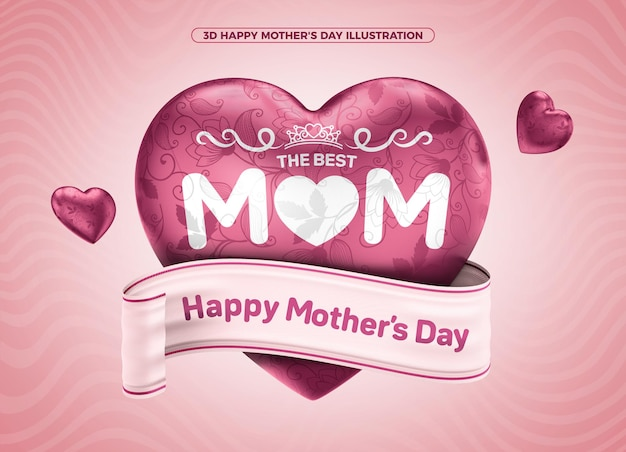 The best happy mothers day 3d for makeup