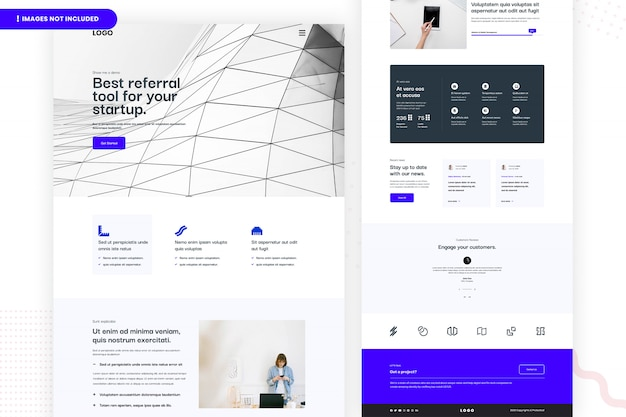 Best referral tool for your startup website page design