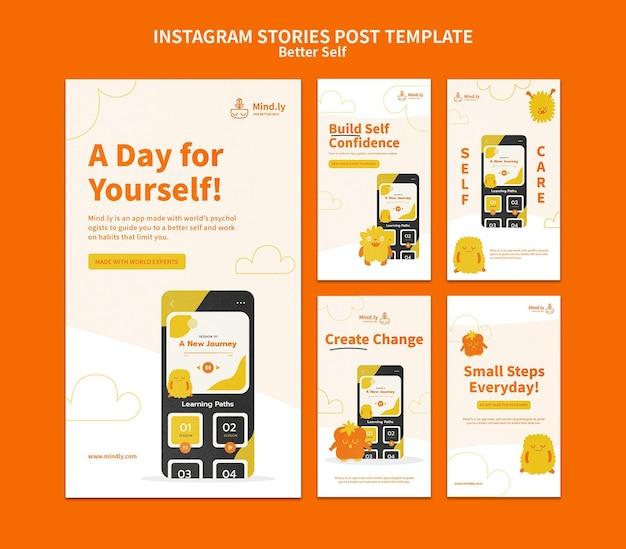 Better self social media stories