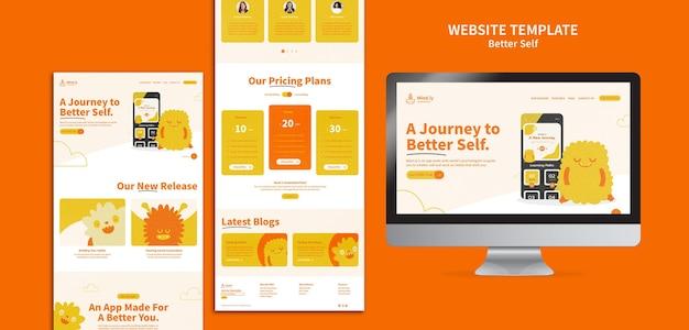 Better self web page