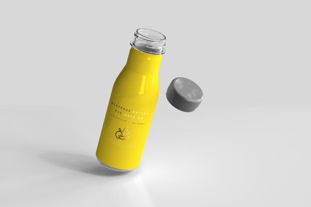 음료 병 모형