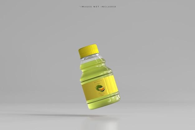 Мокап бутылки напитка