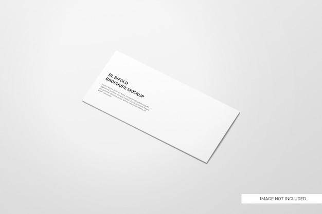 Mockup di brochure bifold