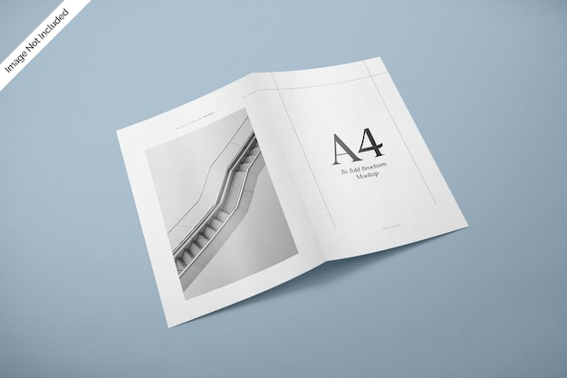 Макет обложки журнала bifold