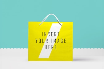 Paper bag vectors photos and psd files free download big paper bag mock up malvernweather Gallery