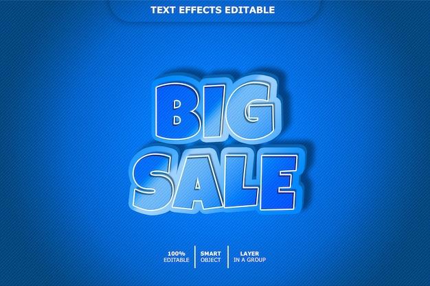 Большая распродажа 3d эффект стиля текста