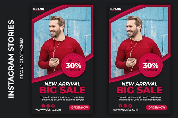 Big sale social web banners