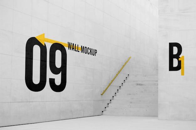 큰 벽 모형