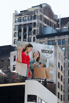 Billboard sign concept mock-up