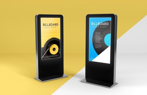 Billboard studio mock up