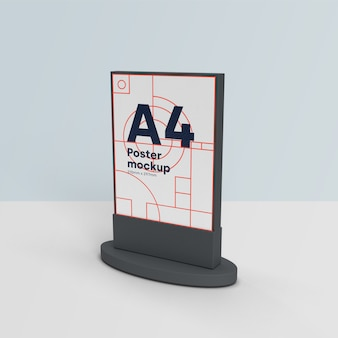 Billboards mockup scene 3d