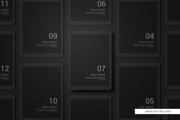 Black clay devices планшетный макет