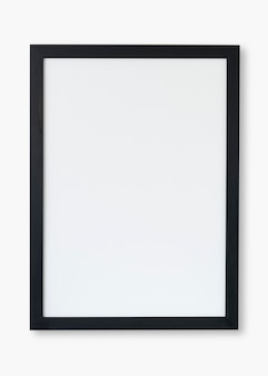 Черная рамка psd-макет с пространством для дизайна