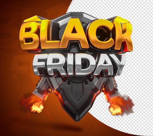 ブラックフライデーの未来的なフィクション3dスタンプ、小売および商業販売用のドライバー付き