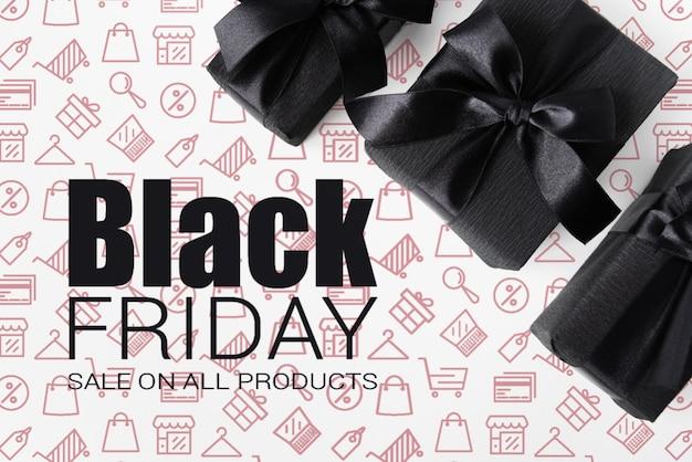 Black friday publicity campaign design
