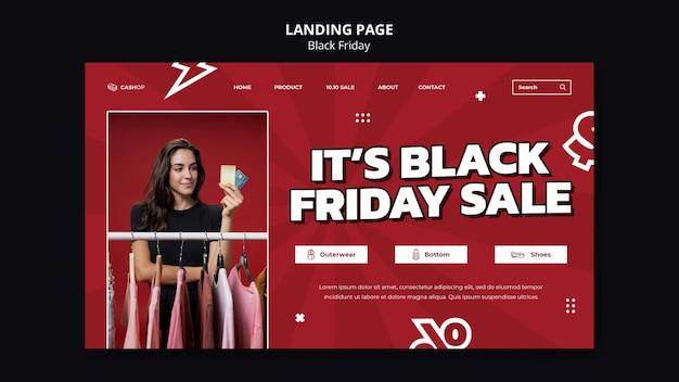 Black friday sale web template