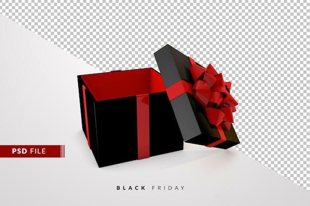 Черная пятница распродажа с 3d подарочной коробкой