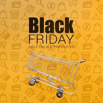 Black friday sales promotional campaign