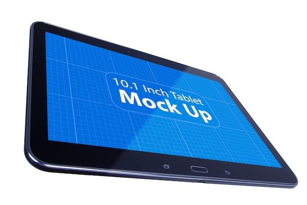 Black tablet mockup