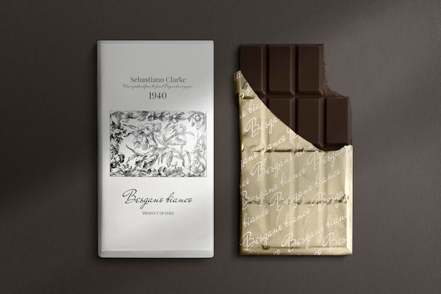 Black and white patterned notebook mockups