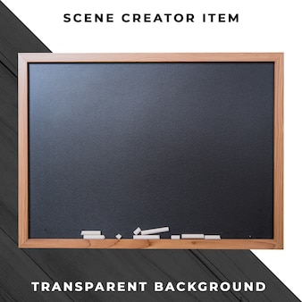 Blackboard object transparent psd