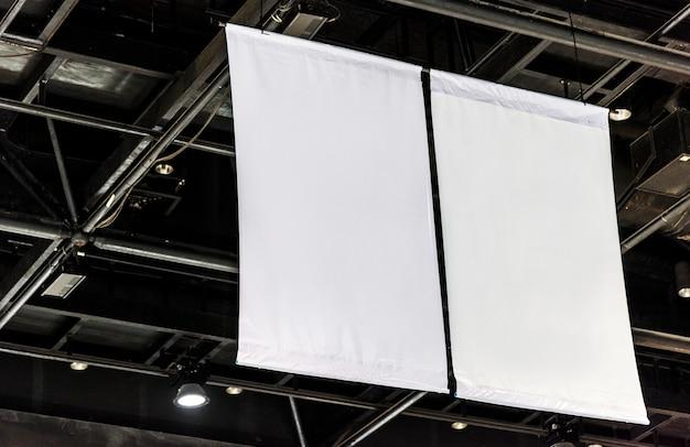 Blank billboard mockup