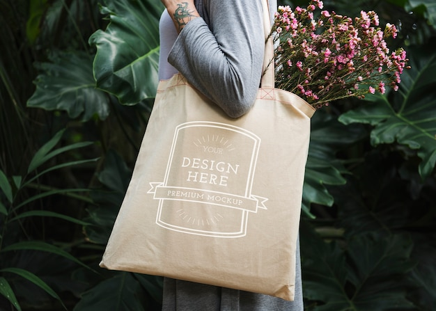 Blank canvas bag