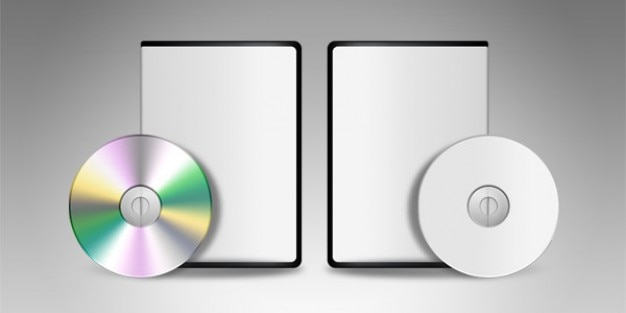Blank dvd cd template