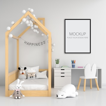 Blank photo frame for mockup