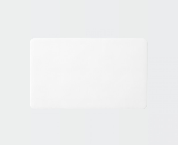 Blank rectangle shape carpet isolated