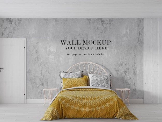 Blank wall ready for your design art wallpaper