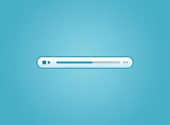 Blue Audio Player