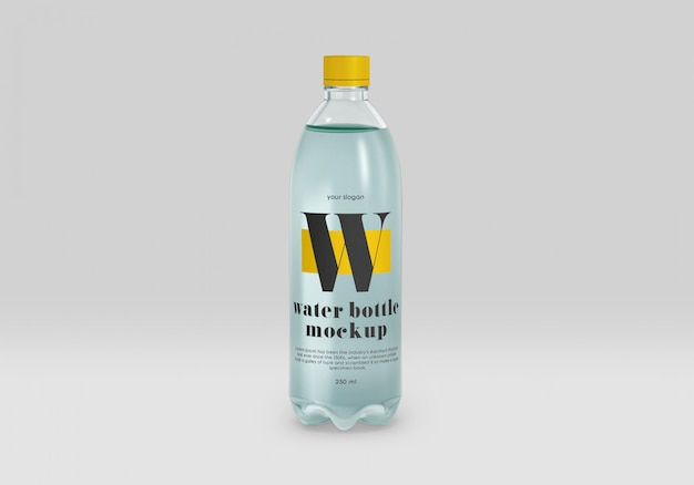 Макет бутылки с водой для домашних животных