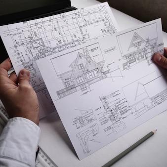 Blueprint presentazione realistica