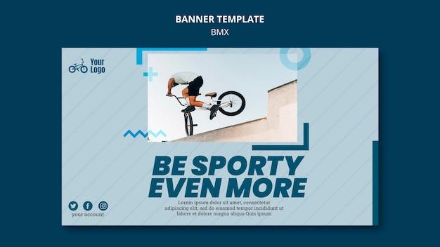 Bmx shop banner template