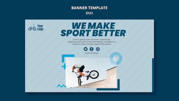 Bmx shop template banner