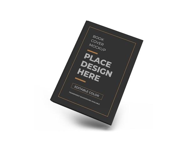 책 표지 3d 모형 디자인