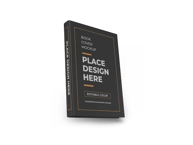 ブックカバー3dモックアップデザイン