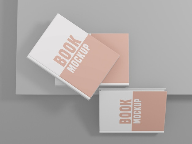 Libro cover design mockup psd