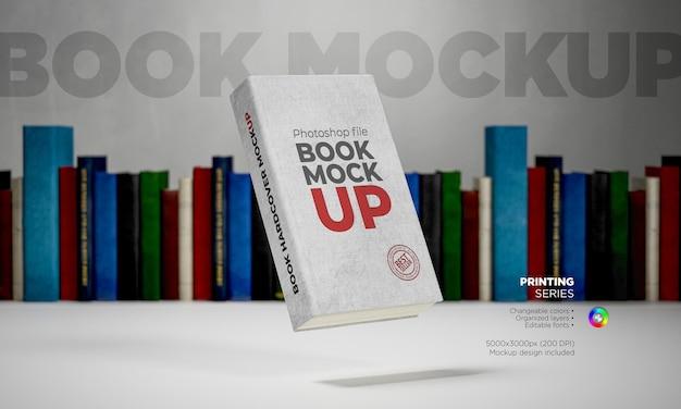 Book cover mocku